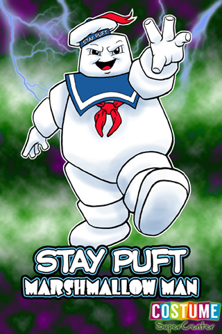 Stay Puft Marshmallow Man Mobile Wallpaper